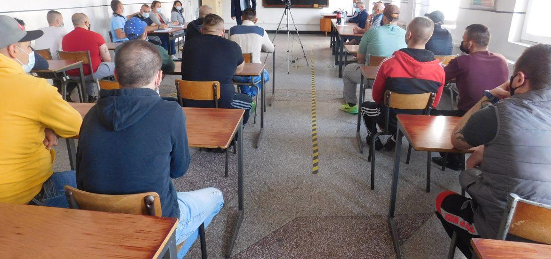 Si detinutii Penitenciarului Oradea merg la scoala. 38 de detinuti vor face carte in anul scolar 2021-2022