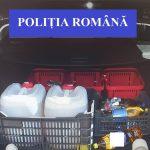 L-au lasat fara tuica! Un barbat  a fost surprins in trafic, langa Alesd, transportand 52 de litri de licoare bachica. Politistii i-au confiscat intreaga cantitate