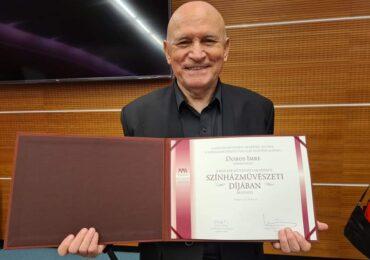 Actorul oradean Dobos Imre, de la Teatrul Szigligeti, a fost premiat de departamentul de Artă Teatrală a Academiei Maghiare de Artă