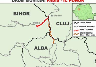 A fost aprobata modernizarea drumului dintre Padis si Ic Ponor.