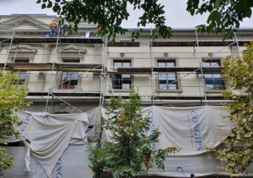 """S-a încheiat reabilitarea fațadei principale a Școlii """"Szacsvay Imre"""""""