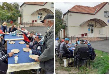 Ziua Internațională a Persoanelor fără Adăpost marcata prin activitati sociale pentru Adapostul de Noapte de pe str. Gutenberg