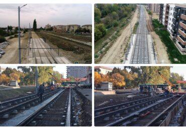 Noua linie de tramvai din Oradea aproape gata. In decembrie 2021 vom putea circula pe ruta Calea Aradului-Cantemir-Nufarul (Foto)
