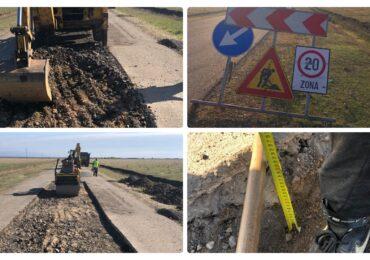 Bolojan obliga firma care a turnat asfalt pe DJ 709 sa remedieze defectelor constatate la un tronson de 3,61 km