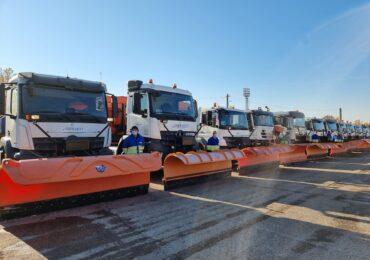 Utilajele RER Vest au fost pregatite pentru sezonul de iarna