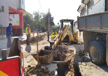 Strada Trotusului va fi modernizata. Lucrarile vor fi finalizate in 3 luni si va fi amenajata si o zona verde